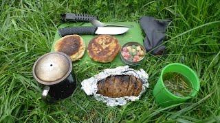 ХЛЕБУШЕК и печёная картошка / Bread and baked potatoes