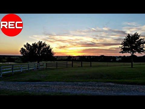 Sunset at Navasota Tx