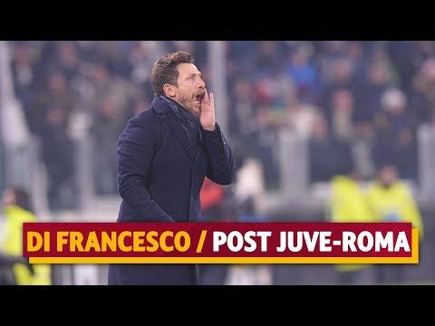 Juventus-Roma: le parole di Eusebio Di Francesco