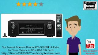 [Review & SALE] Denon AVR-S500BT 5.2-Channel Network A/V Receiver