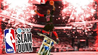 MOST RIGGED DUNK CONTEST EVER!!! Jumping Over a MOTORCYCLE OMG !!! NBA 2k19 MyCareer #38