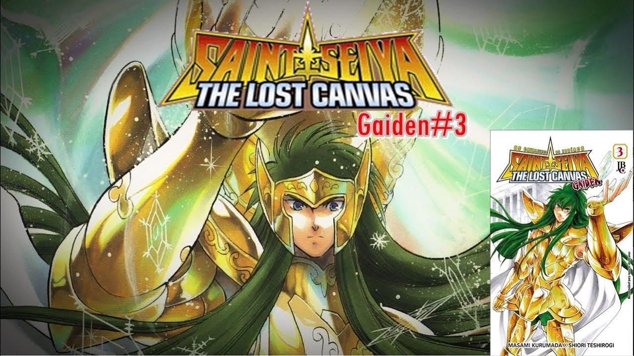 Saint Seiya The Lost Canvas Gaiden Vol 3 Mostrando O Manga Youtube