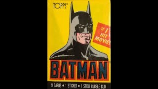 What's Inside - Batman Series 1 Trading Cards (1989, Topps)