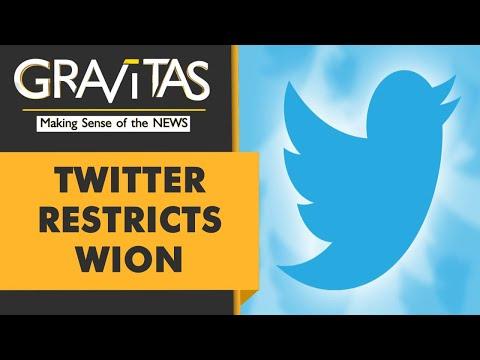 Gravitas: Twitter is blocking free speech, controlling conversations