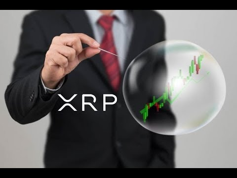 A Bubble Is Bursting And It's Not Ripple XRP And Crypto