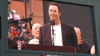 Greg Maddux Speech at Turner Field
