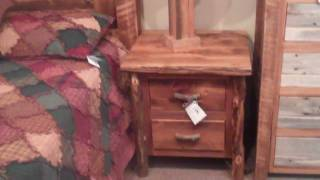 Rustic Nightstand - Reclaimed Wood Nightstand - Barnwood Nightstand & Furniture