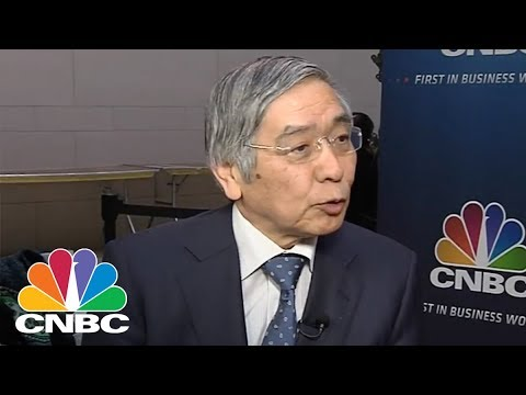 Japan's Top Central Banker Haruhiko Kuroda: We Don't See A 'Turning Point' In Global Growth | CNBC