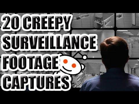 20 CREEPY Surveillance Footage Captures [ASKREDDIT]
