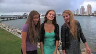 "The SURF GIRLS ""I Can Hear Music"" Full Song - Beach Boys Tribute"