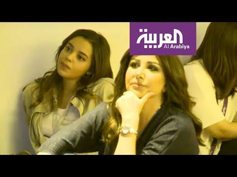 الزملاء في العربية خلال متابعتهم لمباراة فرنسا وكرواتيا  - نشر قبل 2 ساعة