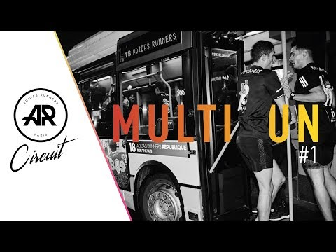 Adidas Runners Paris - Run The Bus / Multirun