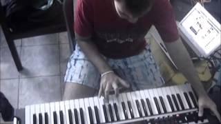 Construção Lead Jordan Rudess para Korg x50 - On the back of Angels by Gabriel Souza