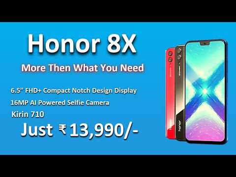 HONOR 8X | Honor 8x | Honor 8X Specs, Price & Launch Date And Release In India