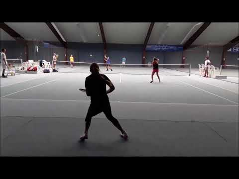 "Tennis Drills - Fun & Action Drills - ""Wipe Out"""