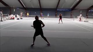 """Tennis Drills - Fun & Action Drills - """"Wipe Out"""""""