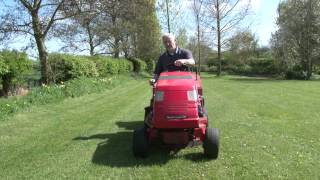 Countax K15 Hydrostatic C600 Tractor Mower with Sweeper