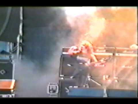 Cradle of Filth live Sodomy & Lust Live Wacken 1998 (Sodom Cover)