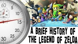 A Brief History Of The Legend Of Zelda