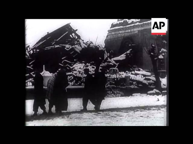 1939 Erzincan Depremi - Associated Press