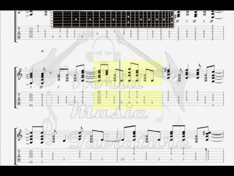 Extreme   More Than Words GUITAR TAB
