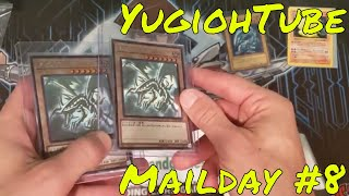YugiohTube Mail Day #8 - Blue Eyes / Ghost Rare Red Eyes / Relinquished Shadowless Ninetales PSA 10?