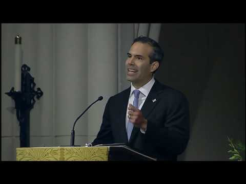George P Bush full eulogy at HW Bush funeral [FULL VIDEO ...