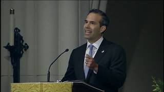 George P Bush full eulogy at HW Bush funeral [FULL VIDEO]