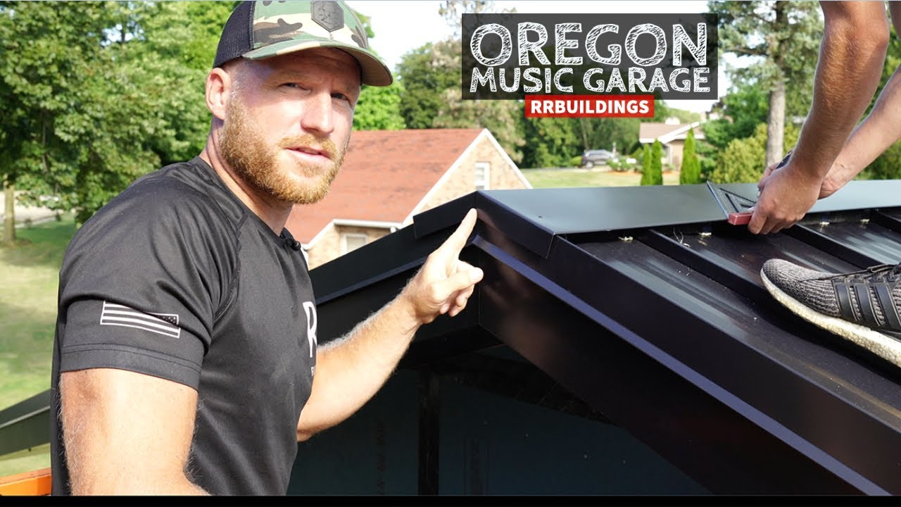 Oregon Music Garage: We had to Tear off the Standing Seam Roof