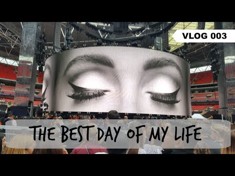 THE BEST DAY OF MY LIFE (SEEING ADELE IN CONCERT)