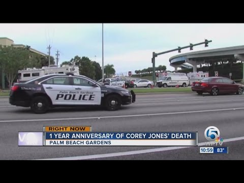 1 year anniversary of the death of Corey Jones