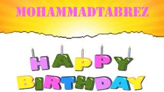 MohammadTabrez Happy Birthday Wishes & Mensajes
