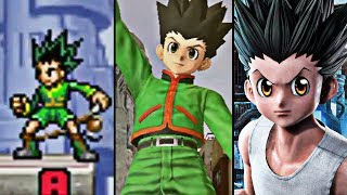 Evolution Of Gon Freecss In Jump Games (2006-2019)