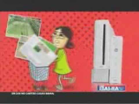 Nintendo Wii Brazil Commercial