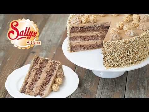 Sallys Giotto-Haselnuss-Torte