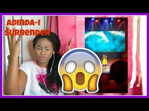 Adinda performing I Surrender by Celine Dion | Reaction