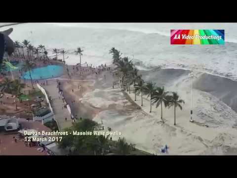 Durban Massive Waves - 12 March 2017