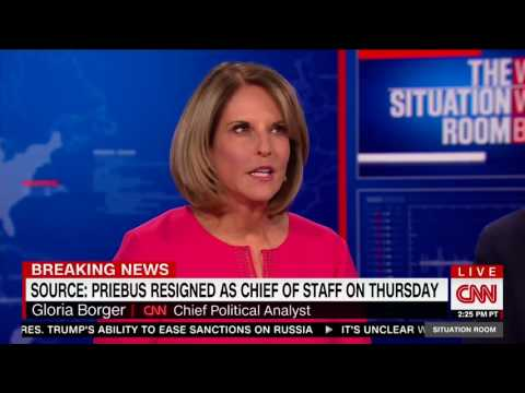 Hilariously awkward moment on CNN as Wolf Blitzer chides Gloria Borger to use 'good sources'