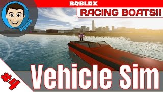 Roblox: Vehicle Simulator : Ep 4 : Boats, Jet Skis, and airplaines! - Speed boats rule!