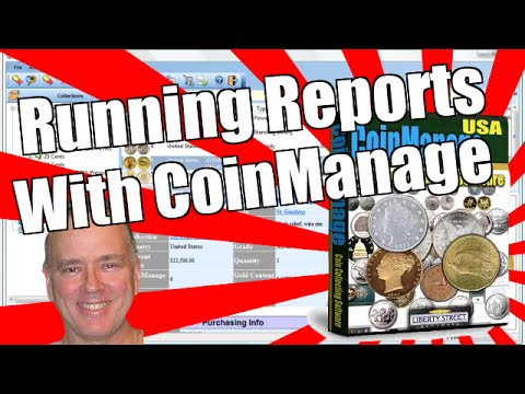 CoinManage Coin Software - Running Reports