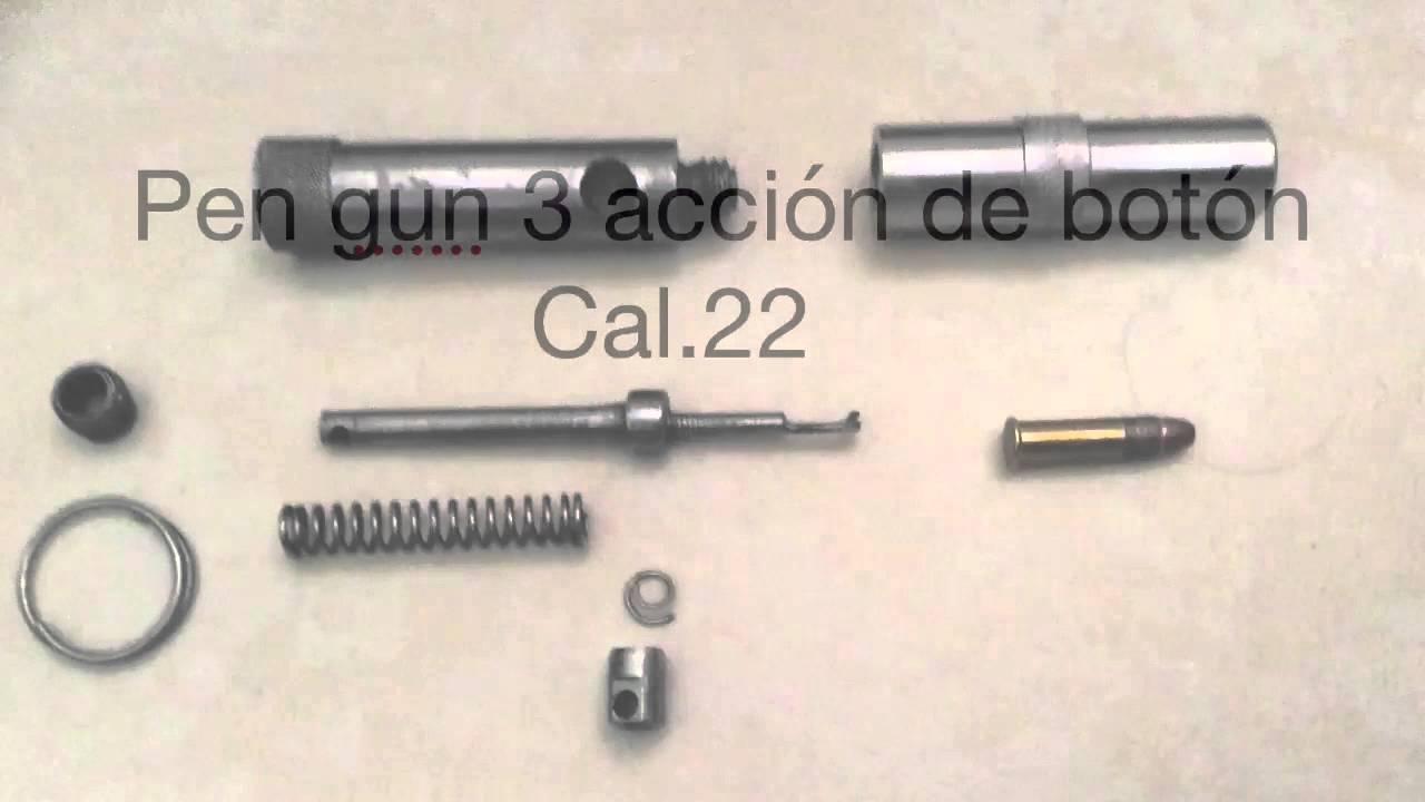 pen gun 3 cal 22 youtube