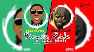 "Vybz Kartel x Bunji Garlin - Bicycle Ride (Official Soca Remix) ""2016 Soca"""
