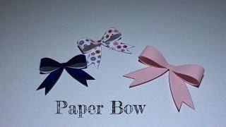 Little Box DiY - Paper Bow 紙蝴蝶結