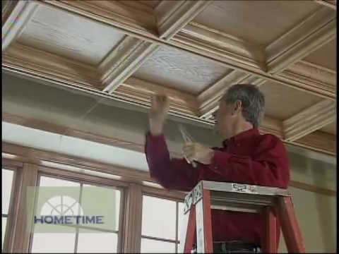 Suspended Coffered Ceiling System Youtube