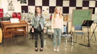 Смотреть клип Megan And Liz - Are You Happy Now?