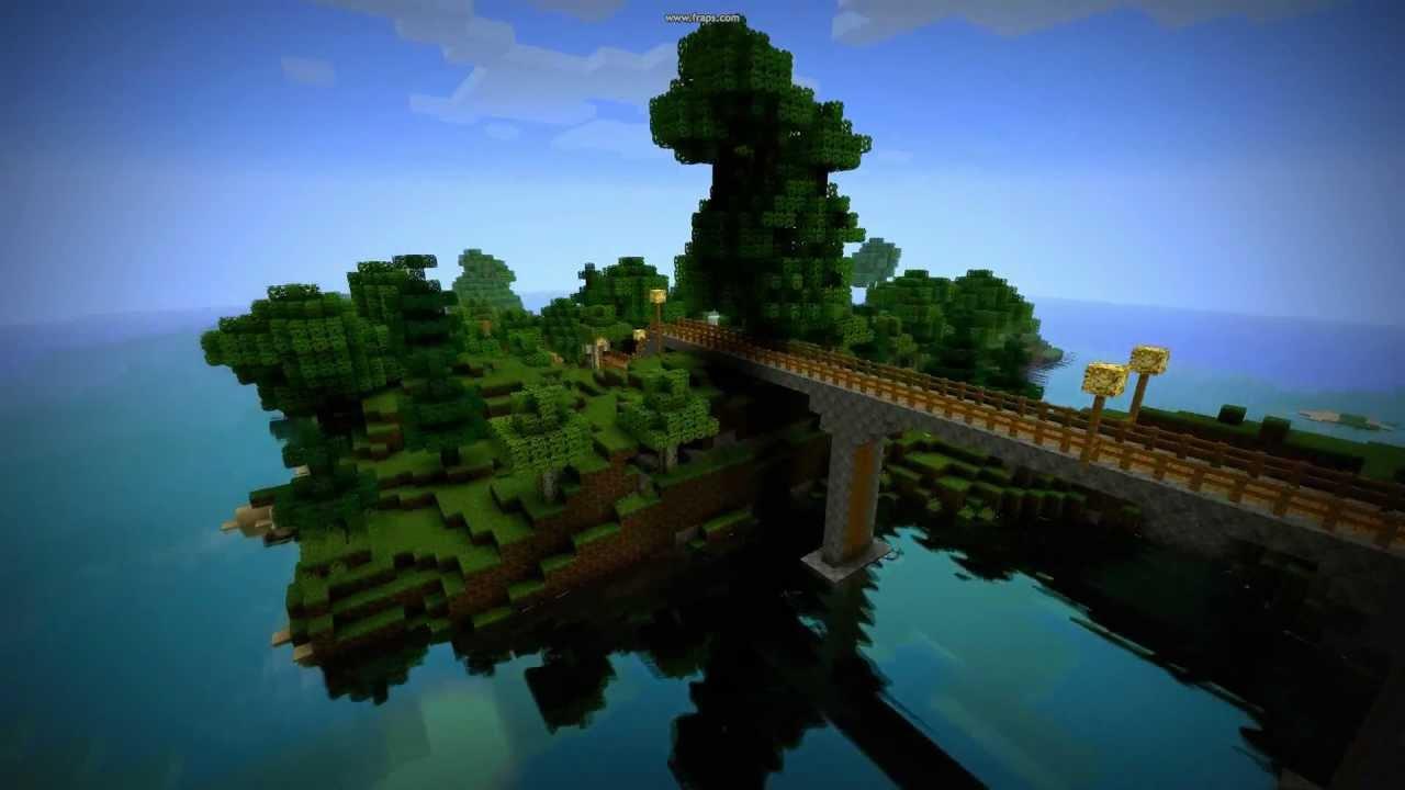 Minecraft Water Shader Misa Texture Pack Youtube