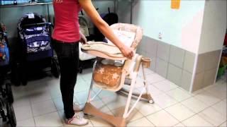 стульчик для кормления Pituso Melon обзор