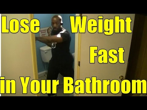 Ski Step HIIT Workout #2 - Lose Weight in Your Bathroom (without taking a sh*t)