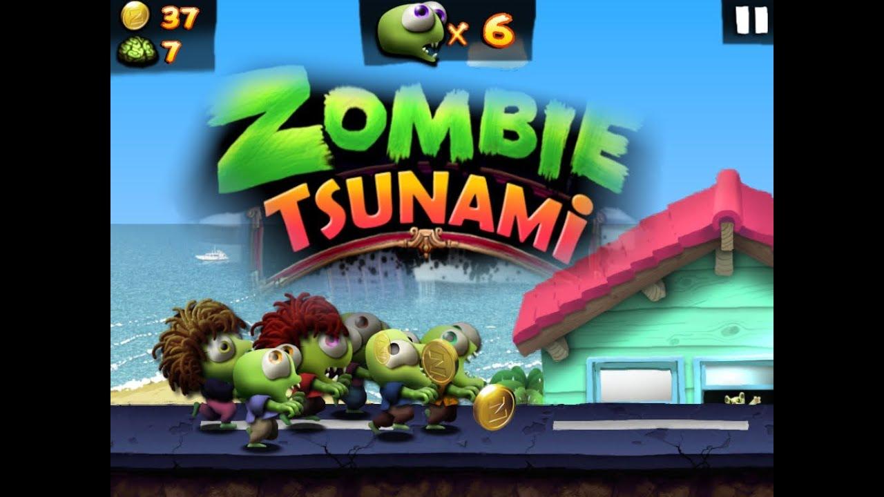 لعبه Zombie Tsunami v3.3.0 مهكره جاهزه (تحديث)