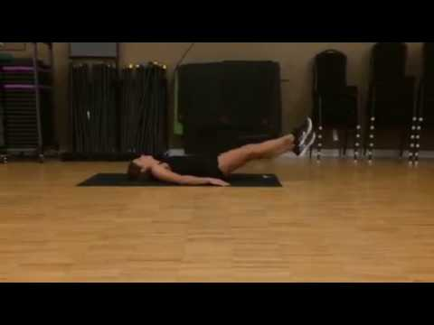 Best Ab Exercises for Women #4: Flutter Kick